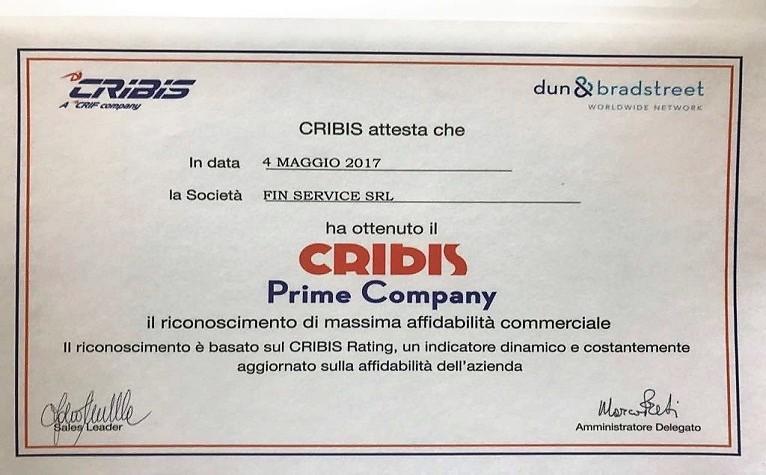 cribis Prime Company Finservice