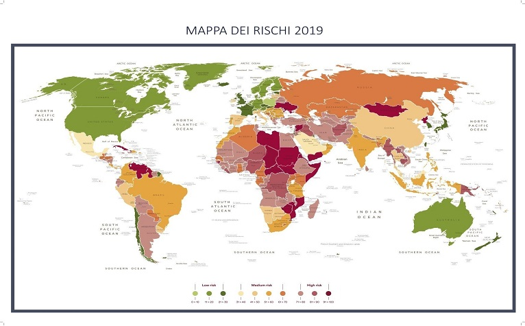Export Mappa dei rischi