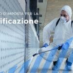 Sanificazione e protezione: credito d'imposta del 60% per le aziende