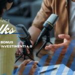 Bonus Investimenti 2021. Ascolta il podcast #3!