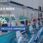 Un contributo del 50% per il settore moda e tessile